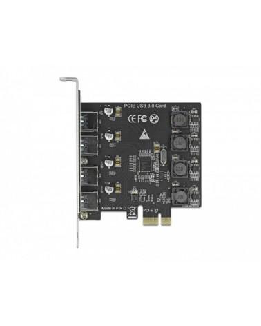 icecat_Delock PCIe x1 zu 4x ext. USB Typ-A USB 3.2 Gen 1, USB-Controller, 90509