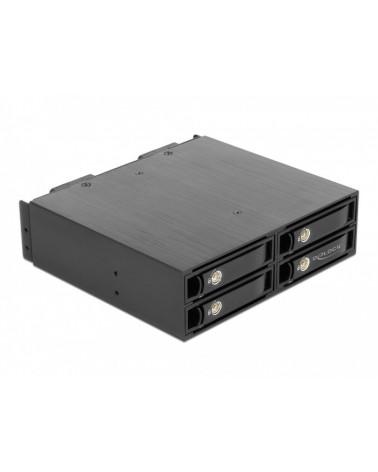 icecat_Delock 5.25″ Wechselrahmen für 4 x 2.5″ U.2 NVMe SSD, Einbaurahmen, 47235