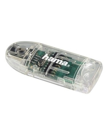icecat_Hama USB 2.0 Kartenleser 8in1 SD microSD transparent     91092, 91092