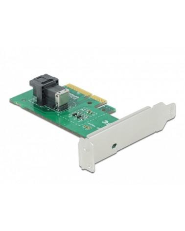 icecat_Delock PCI Express x4 Karte zu 1 x intern SFF-8643 NVMe Low Profile, Schnittstellenkarte, 90437