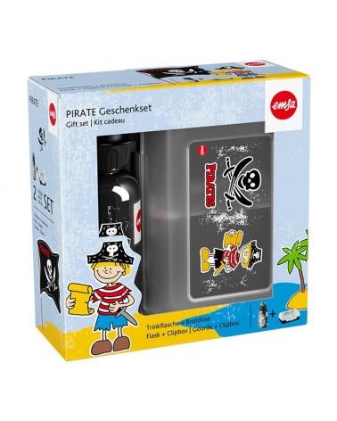 icecat_EMSA Kinder Set Trinkflasche 0,4l + Brotdose Pirat 518136, 518136