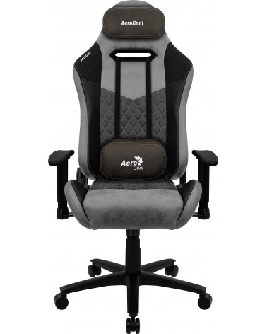 icecat_Aerocool DUKE, Gaming-Stuhl, DUKE Ash Black