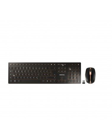 icecat_CHERRY DW 9100 SLIM DE Layout bronze schwarz, JD-9100DE-2