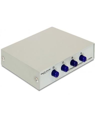 icecat_Delock DATA Switch 4-port RJ45 10 100 manuell, 87588