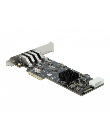 icecat_Delock PCIe x4  4x extern USB 3.2 Gen 1 Typ-A, USB-Controller, 89008