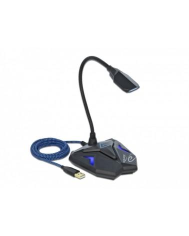 icecat_Delock Desktop USB Gaming Mikrofon, 66330