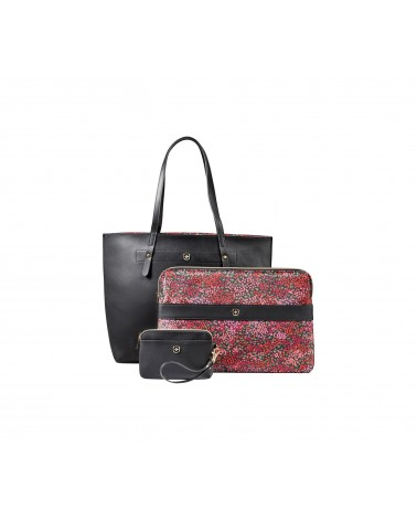 icecat_Wenger Marie Sol Notebook Tasche 14,1  Black Floral, 604807