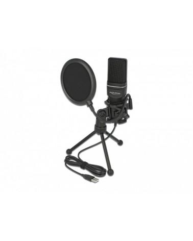 icecat_Delock USB Kondensator Mikrofon Set, 66331