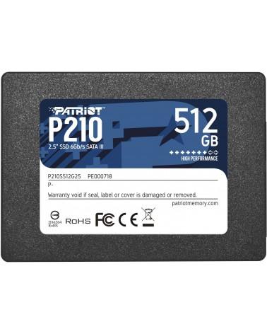 icecat_Patriot P210 512 GB, SSD, P210S512G25
