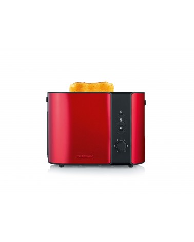 icecat_Severin Toaster 2 Scheiben AT 2217 Fire Red sw, AT2217