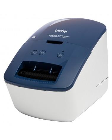 icecat_Brother QL-600B Etikettendrucker Blau, QL600BXX1