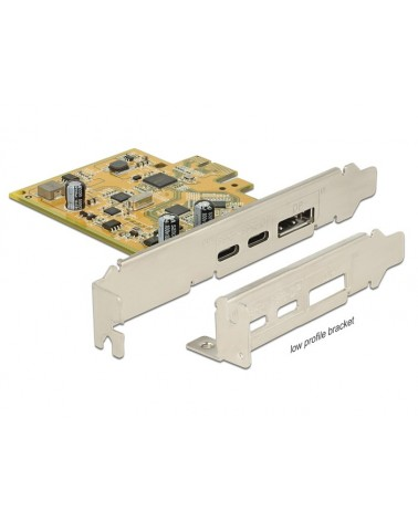 icecat_Delock PCIe USB 3.1 Gen2 Type-C Karte, USB-Controller, 89582