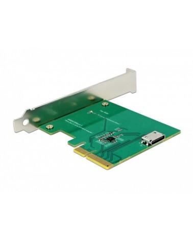 icecat_Delock PCI Express x4 Karte zu 1 x intern OCuLink SFF-8612, Adapter, 90307