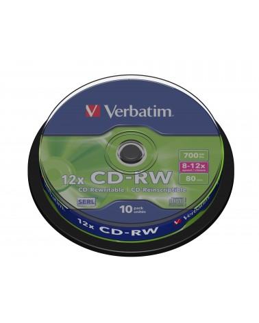 icecat_VERBATIM CD-RW 80Min 700MB 8-12x Cakebox(10 Disc), 10-020-109