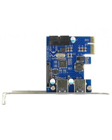 icecat_Delock PCI ExpressCard USB3 2xext+1x19-p, Controller, 89315