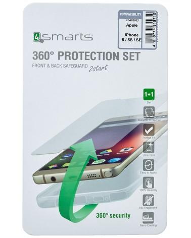 icecat_4Smarts 360° Protection Set für Apple iPhone 7 8 SE, clear, 492975