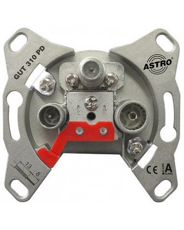 icecat_ASTRO Antennensteckdose f. Unicable, 18dB GUT 318 PD, 00541318