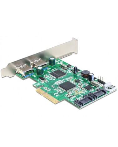 icecat_Delock PCI Express Karte  2x USB 3.0, 2x SATA, Controller, 89359