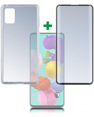 icecat_4Smarts 360° Premium Protection Set Samsung Galaxy A51, sw, 493308