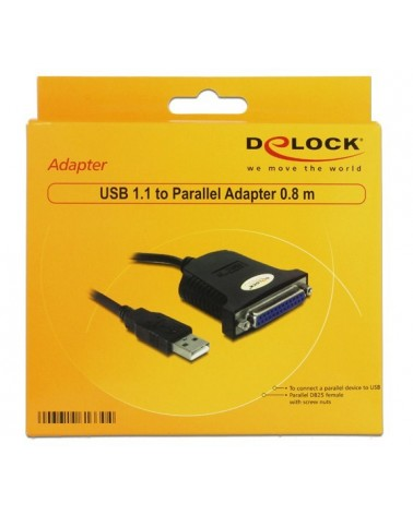 icecat_Delock Adapter USB 1.1 auf Parallel, 61330