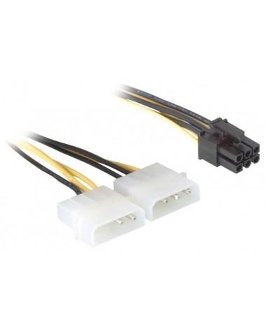 icecat_Delock Stromkabel für PCI Express Karten 15cm, 82315