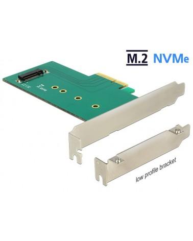 icecat_Delock PCIe x4  1 x M.2 Key M NVMe Low, Adapter, 89472