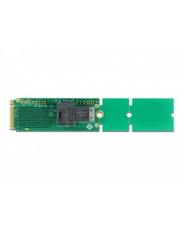 icecat_Delock M.2 Key M zu SFF-8643 NVMe 22110   2280   2260, Schnittstellenkarte, 63145