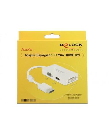 icecat_Delock Adapter Displayport  VGA   HDMI  DVI-D, 62655
