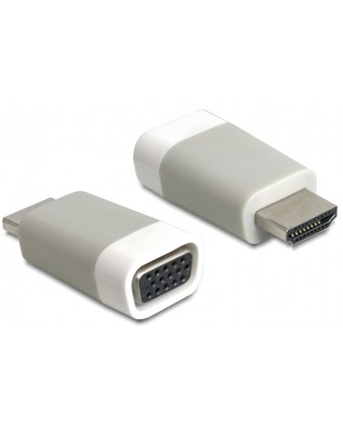 icecat_Delock Adapter HDMI-A Stecker  VGA Buchse, 65472