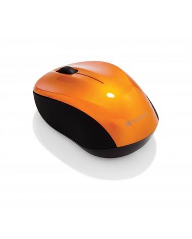 icecat_Verbatim USB Maus Go Nano Wireless volcanic orange retail, 49045
