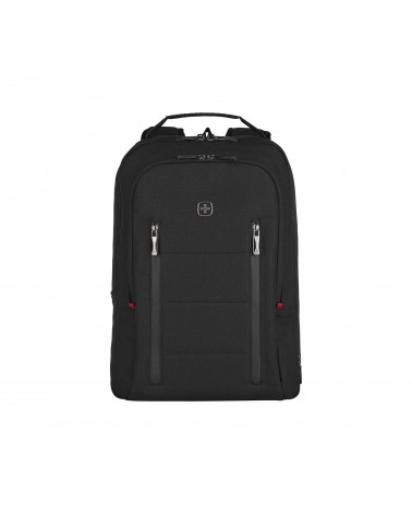 icecat_Wenger City Traveler Carry-On Notebook Rucksack 16  schwarz, 606490