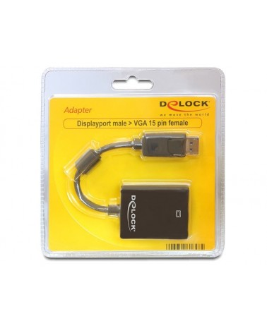 icecat_Delock Adapter Displayport Stecker  VGA Buchse, 61848