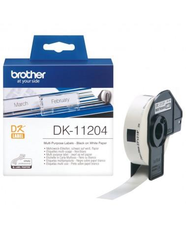 icecat_Brother Mehrzweck-Etiketten DK-11204, Schriftband, DK11204