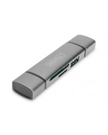 icecat_ASSMANN DIGITUS Dual Card Reader Hub USB-C™   USB 3.0, OTG, DA-70886