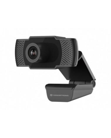 icecat_DIGITAL DATA Conceptronic AMDIS01B 1080P Webcam schwarz, AMDIS01B