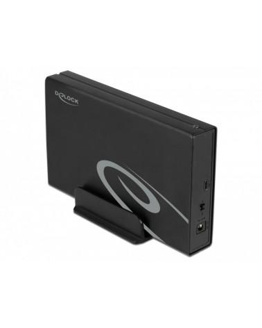 icecat_Delock Externes Gehäuse für 3.5″ SATA HDD mit SuperSpeed USB 10 Gbps (USB 3.2 Gen 2), Laufwerksgehäuse, 42627