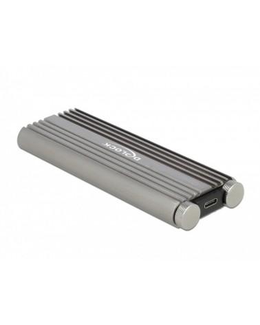 icecat_Delock Externes Gehäuse M.2 PCIe mit USB 3.2 Gen 2x2 USB-C, Laufwerksgehäuse, 42001