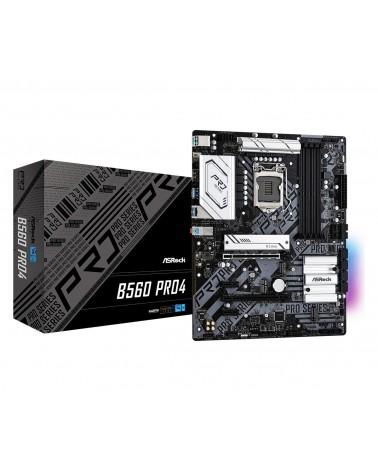 icecat_AS-Rock MB ASRock B560  Pro4                1200 ATX   HDMI DP  DDR4 retail, 90-MXBF10-A0UAYZ
