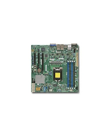icecat_Server MB Super Micro 1xLGA 1151 mATX 4x1Gb LAN  X11SSH-LN4F ohne OS, MBD-X11SSH-LN4F-O