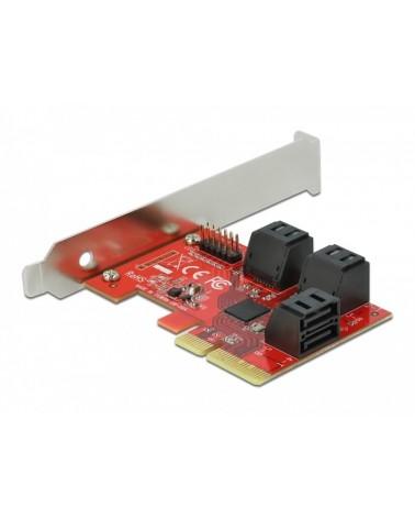 icecat_Delock PCIe 6P SATA PCIe x4Karte - LP, Controller, 89042