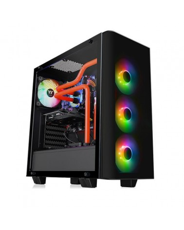 icecat_Thermaltake View 21 Tempered Glass RGB Plus Edition, Tower-Gehäuse, CA-1I3-00M1WN-05