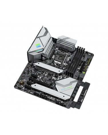 icecat_AS-Rock MB ASRock Z590 Steel Legend         1200 ATX   HDMI DP  DDR4 retail, 90-MXBEQ0-A0UAYZ